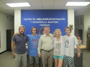 Visita a SIDMAR con Peter Pustaiz