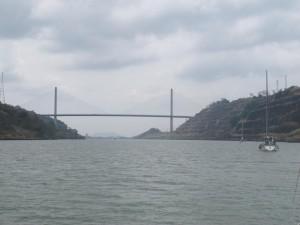 Puente de las Américas, entrada al Pacifico