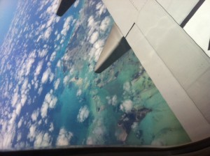 vista aerea de bahamas
