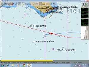 De nuevo en el Atlantico