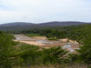 Vistas de tierras africanas